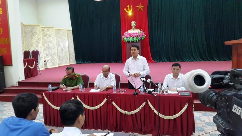 Chủ tịch Chung cam kết không có tấn công giải cứu - ảnh 1