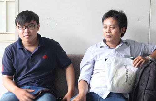 Hai phóng viên nhận dạng kẻ hành hung, cướp máy quay phim - ảnh 1