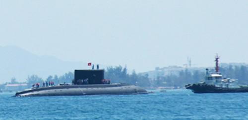 Quân cảng Cam Ranh đón tàu ngầm 185- Khánh Hòa - ảnh 1