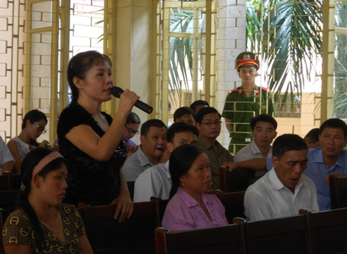 Vụ ông Chấn: Cuộc 'rượt đuổi' giữa HĐXX và nhân chứng Nguyễn Thị Thu Hà - ảnh 2