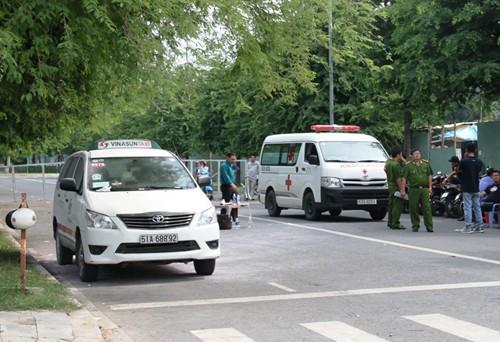 Tài xế taxi chết trong xe sau tiếng nổ - ảnh 1