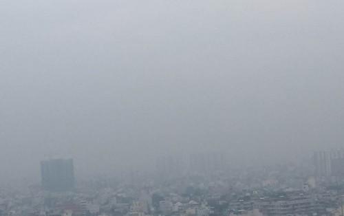 Sương mù bảng lảng ở Sài Gòn - ảnh 2