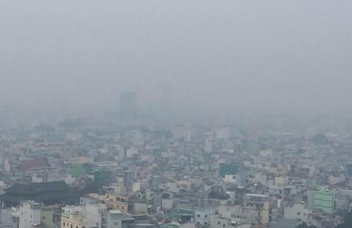 Sương mù bảng lảng ở Sài Gòn - ảnh 4