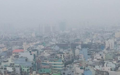 Sương mù bảng lảng ở Sài Gòn - ảnh 5