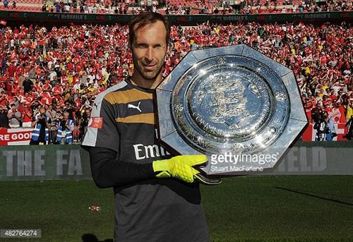 Hạ Chelsea 1-0, Arsenal nâng cúp Community Shield  - ảnh 3