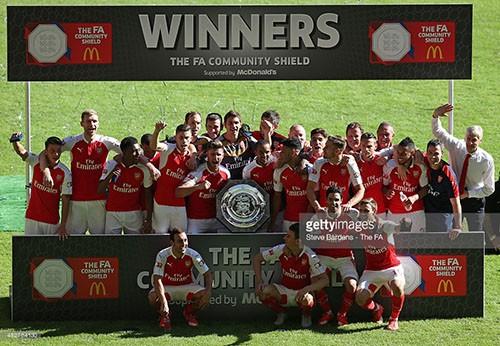 Hạ Chelsea 1-0, Arsenal nâng cúp Community Shield  - ảnh 1