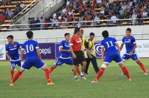 Chung kết U19 ĐNA: Việt Nam vỡ trận thua Thái Lan 6-0  - ảnh 2