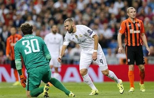 Ronaldo lập hattrick giúp Real thắng Shakhtar Donetsk 4-0 - ảnh 1