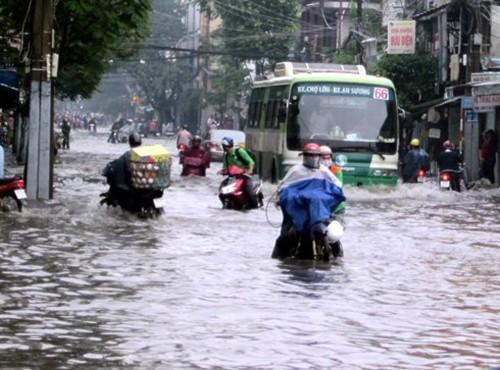 Hôm nay TP.HCM tiếp tục có mưa to - ảnh 1