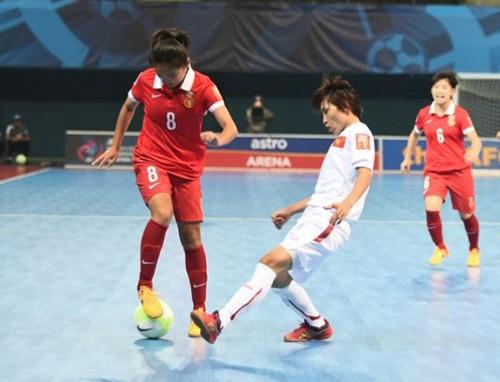 Giải Futsal nữ châu Á: Việt Nam thua trận thứ hai - ảnh 1