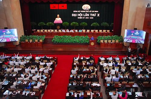 Bí thư Thành ủy TP.HCM: 'Chọn người có uy tín bầu vào Ban Chấp hành' - ảnh 1