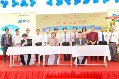 Bình Thuận: Khởi công dự án 3.186 căn hộ nhà ở xã hội - ảnh 1