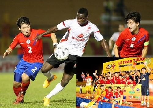 Bốn đội bóng quốc tế dự BTV Cup 2015 - ảnh 1