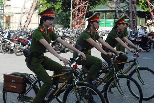 Cảnh sát khu vực Huế sẽ tuần tra bằng xe đạp - ảnh 3