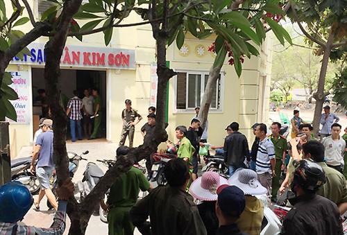 Cảnh sát bao vây khách sạn của tội phạm Sài Gòn - ảnh 1