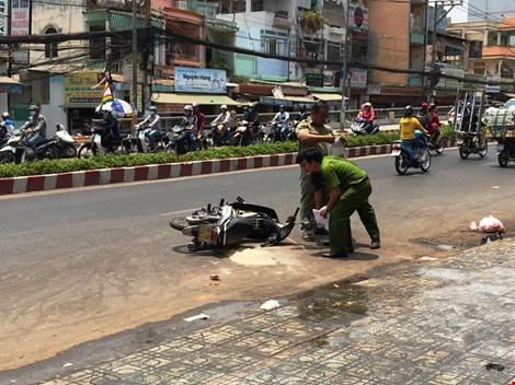 Bắt ba nghi can tạt acid nữ sinh trên đường phố Sài Gòn  - ảnh 2