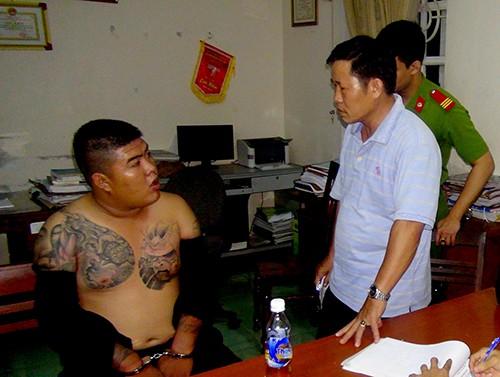 Nghi can chủ mưu vụ nổ súng thanh toán ở Quảng Ngãi ra đầu thú - ảnh 1
