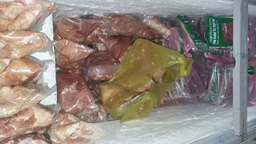 Gần nửa tấn thịt nai, nhím… không nguồn gốc bị bắt giữ - ảnh 1