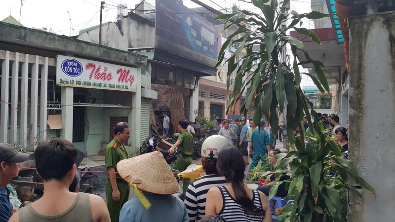 Cháy nổ ở Biên Hòa làm 4 người trong gia đình tử vong  - ảnh 1