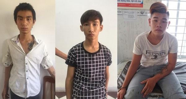 Bắt nhóm  chặn taxi ra sân bay Cam Ranh để cướp - ảnh 1