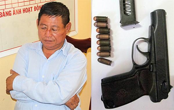 Trung tá Campuchia bắn chủ tiệm vàng bị khởi tố 3 tội - ảnh 1
