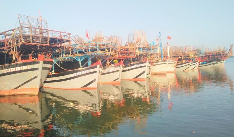 Đoàn tàu vỏ thép mang băng rôn chủ quyền vươn khơi - ảnh 1