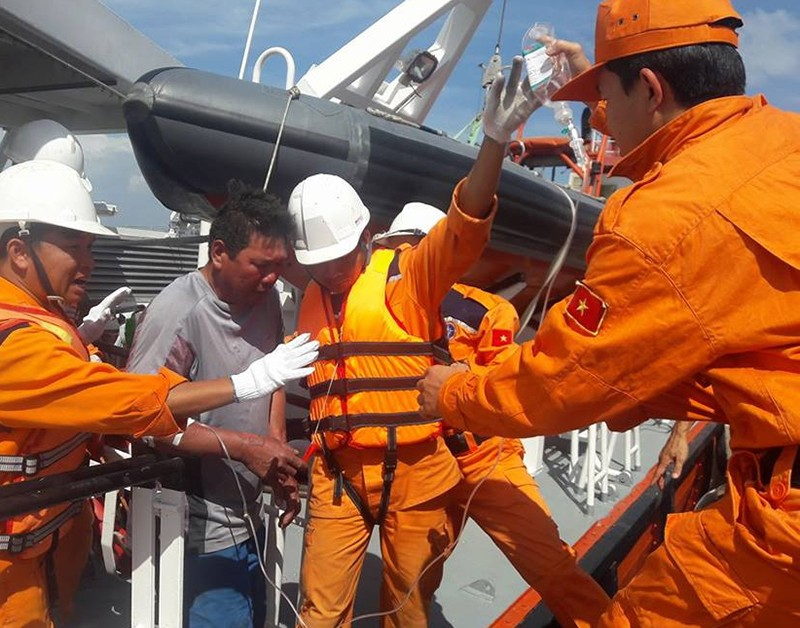 Thuyền trưởng kể vụ nổ tàu ngoài biển Vũng Tàu - ảnh 2