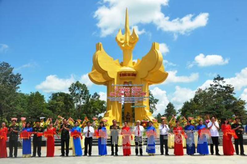 Khánh thành Đài tưởng niệm tại Khu di tích Tà Thiết - ảnh 1