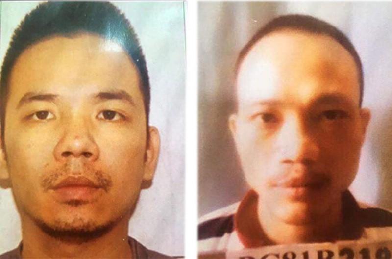 2 tử tù phá cùm, đu dây trốn khỏi trại giam ở Hà Nội  - ảnh 1
