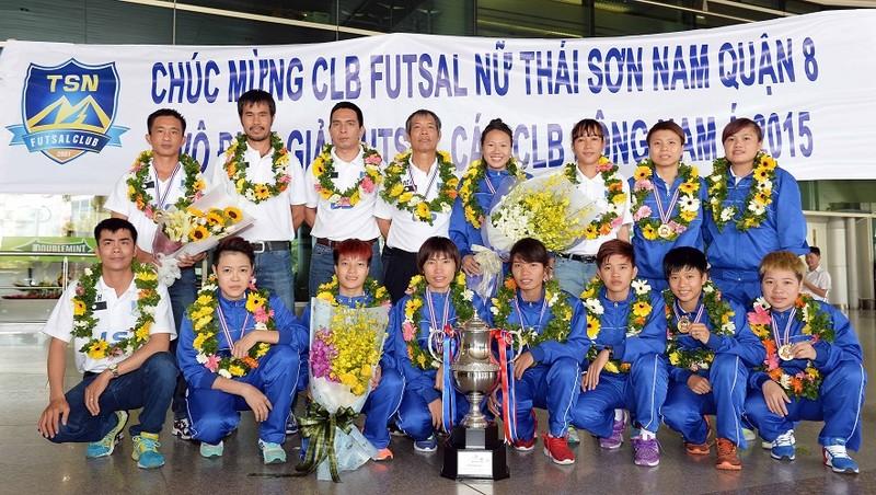Thái Sơn Nam được thưởng xứng đáng với ngôi vô địch  - ảnh 2