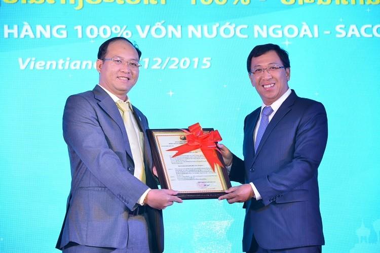 Sacombank thành lập ngân hàng 100% vốn nước ngoài tại Lào - ảnh 1