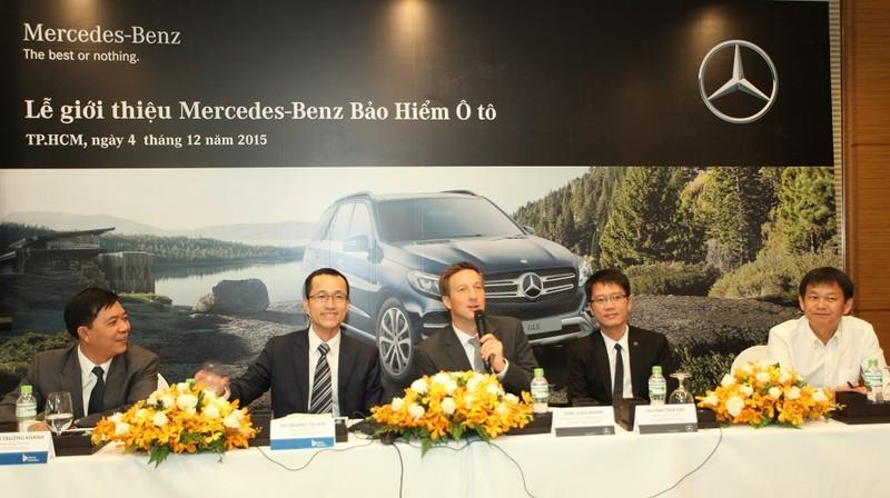 Mercedes Benz tham gia thị trường bảo hiểm ô tô - ảnh 1