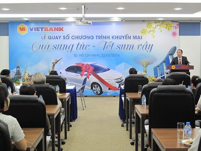 VIETBANK tổ chức thành công lễ quay số Quà sung túc - Tết sum vầy - ảnh 1