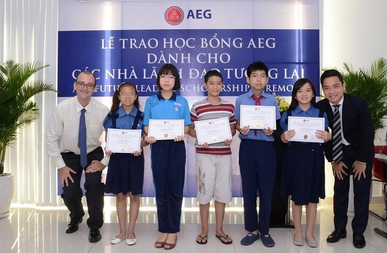 AEG trao học bổng cho nhà lãnh đạo tương lai - ảnh 2