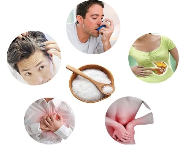 Lạm dụng muối ăn quá nhiều, nguy cơ gây bệnh cao - ảnh 1