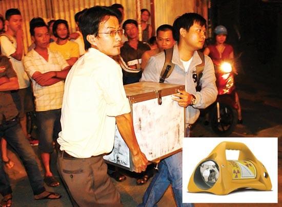 Kẻ trộm từng lấy cắp thiết bị chứa phóng xạ tại TP.HCM - ảnh 1