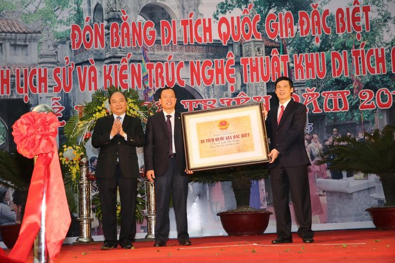 Đền Bà Triệu đón nhận Bằng Di tích quốc gia đặc biệt - ảnh 1