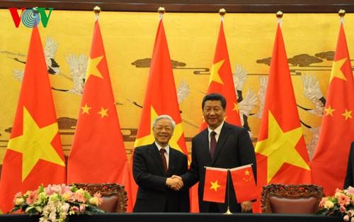Tổng Bí thư Nguyễn Phú Trọng kết thúc tốt đẹp chuyến thăm Trung Quốc - ảnh 1