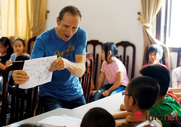 Lớp tiếng Anh miễn phí của cựu binh Mỹ tại Hà Nội - ảnh 4