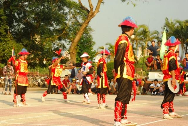 Độc đáo cờ người xứ Huế - ảnh 6