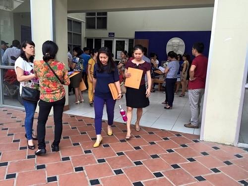 Việc bán hồ sơ của trường THCS Lương Thế Vinh không giới hạn số lượng