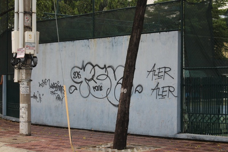 Ấn tượng Graffiti giữa Sài Gòn - ảnh 8
