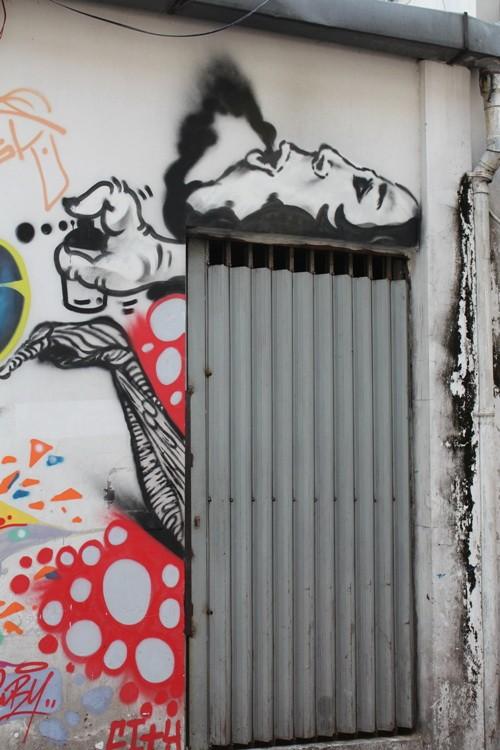 Ấn tượng Graffiti giữa Sài Gòn - ảnh 4
