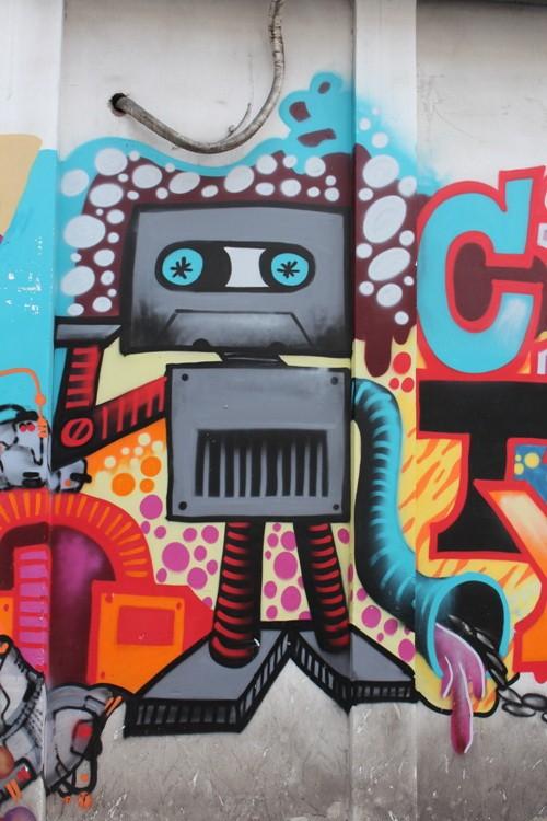Ấn tượng Graffiti giữa Sài Gòn - ảnh 3