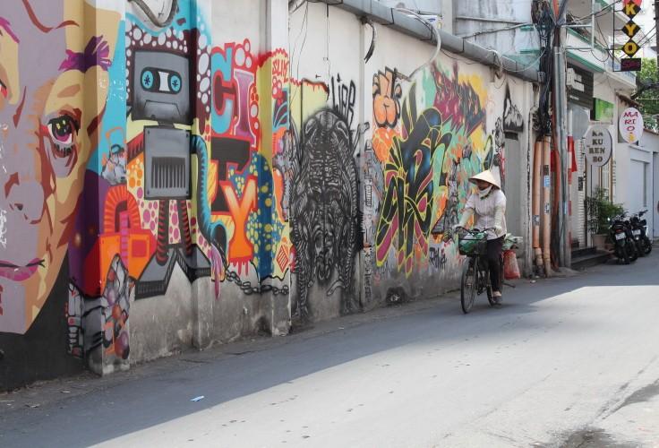 Ấn tượng Graffiti giữa Sài Gòn - ảnh 6
