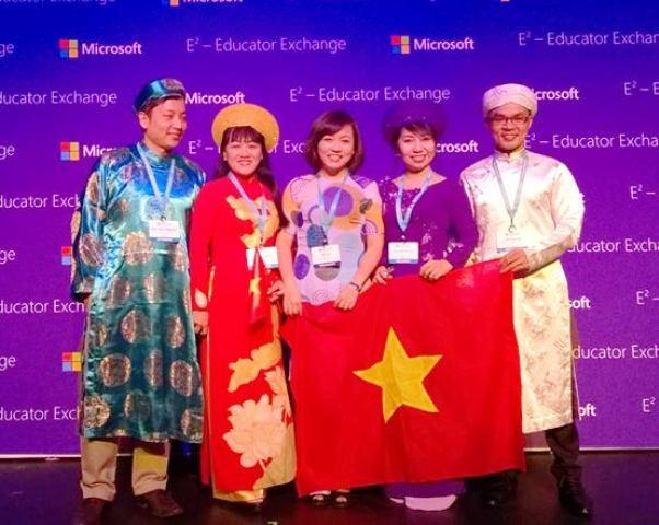 Đoàn giáo viên Việt Nam tại Diễn đàn Giáo dục Toàn cầu
