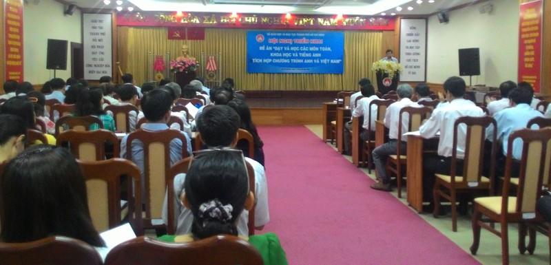34 trường tiểu học tại TP.HCM triển khai chương trình tiếng Anh tích hợp - ảnh 1