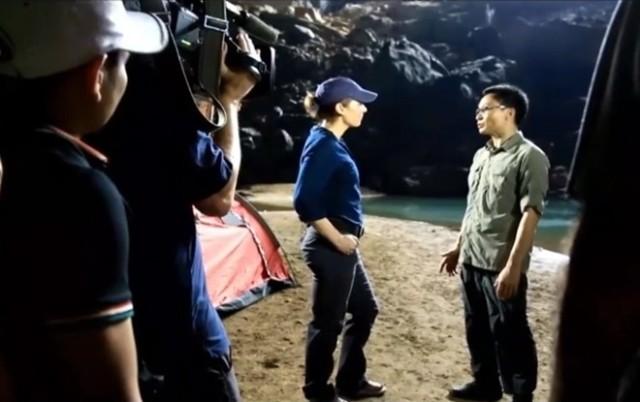 Truyền hình ABC trực tiếp chương trình Good Morning America từ hang Sơn Đoòng như thế nào?  - ảnh 8