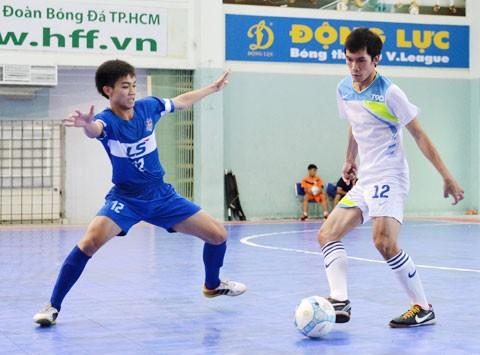 Khai mạc giải Futsal B: Xây nhà từ móng là đây - ảnh 1