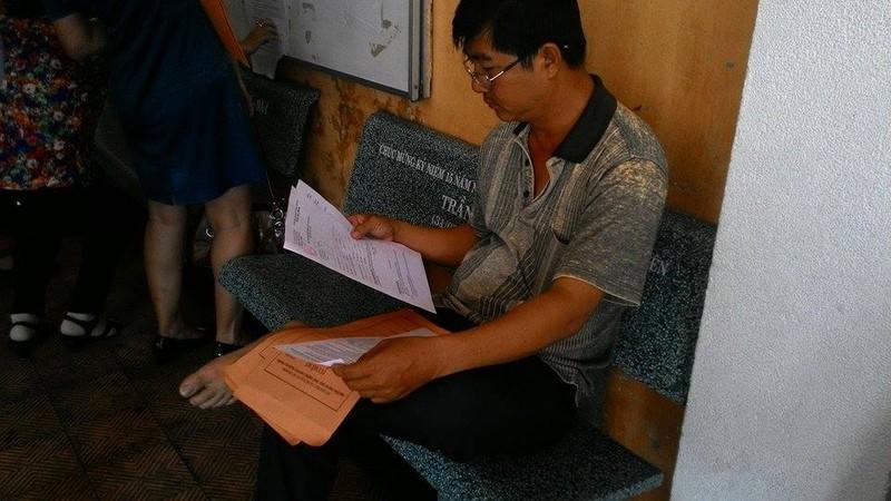 Trường THPT chuyên Trần Đại Nghĩa bắt đầu phát đơn dự tuyển vào lớp 6 - ảnh 5